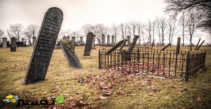 المشي فوق القبور في المنام