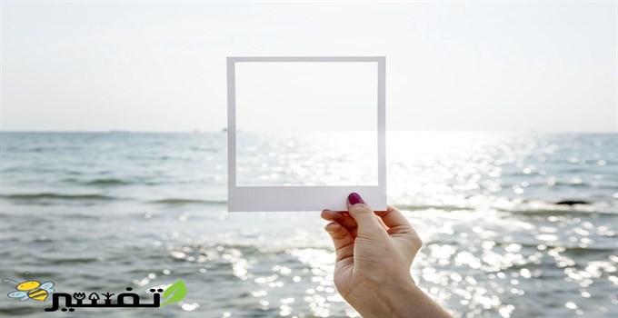 رؤية البحر من النافذة في الحلم
