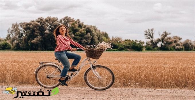 ركوب الدراجة فى المنام