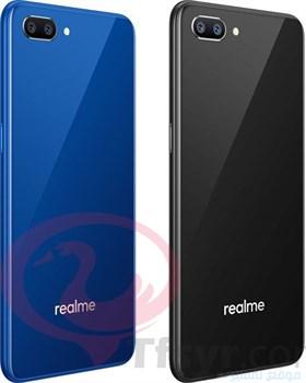 الألوان المتاحة في هاتف realme c1 الازرق والاسود