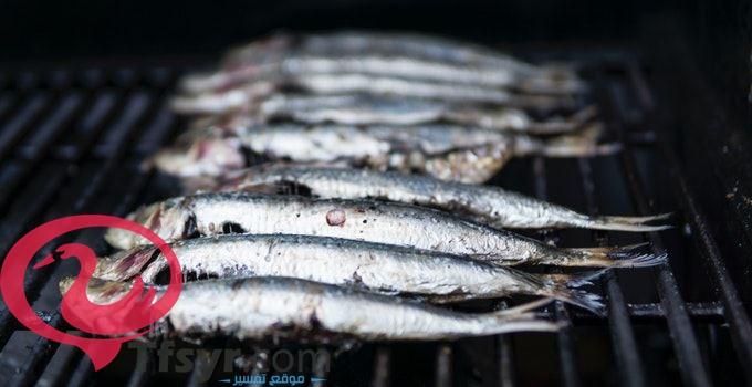 اكل السمك الابيض في المنام