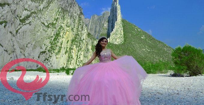 حلم الفستان الوردي في المنام للعزباء