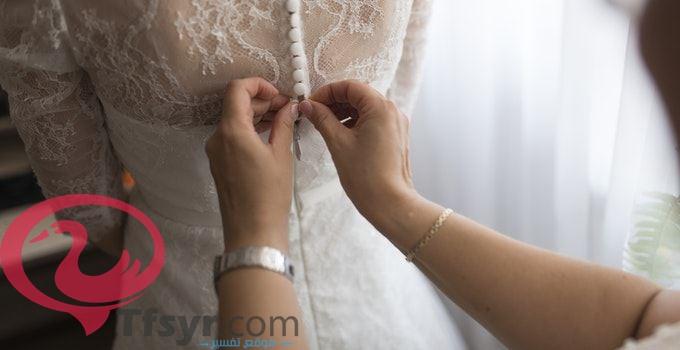 حلم لبس فستان جميل