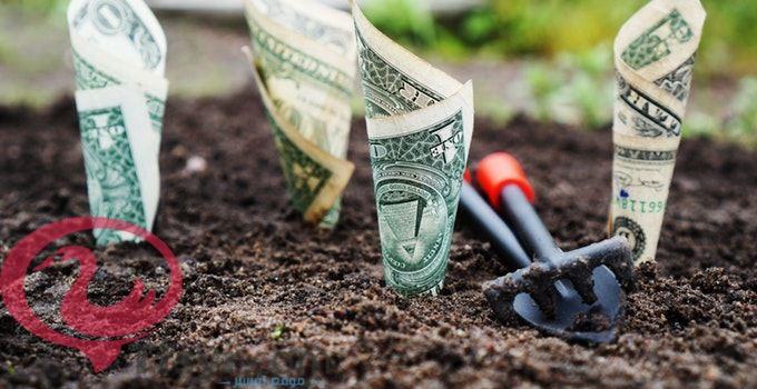 العثور على المال في المنام
