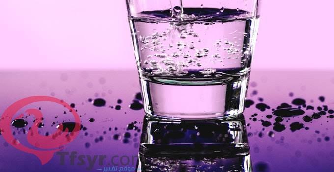 حلم العطش وشرب الماء وعدم الارتواء