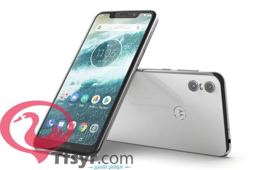 الواجهه الامامية لهاتف Motorola P30 Play