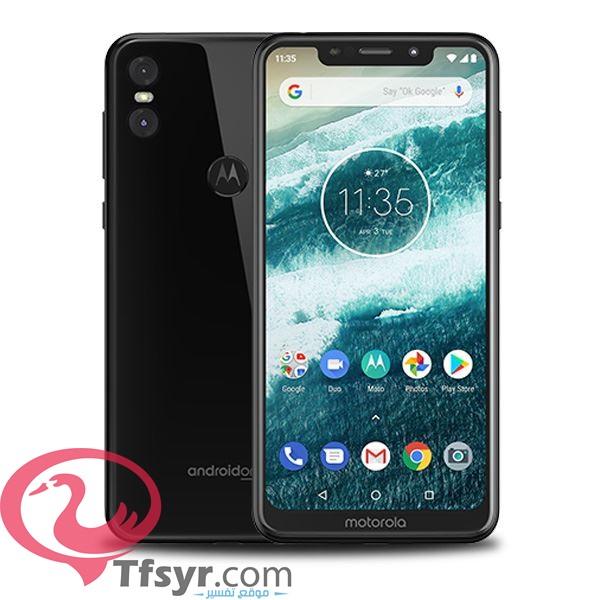 تصميم هاتف Motorola Moto One