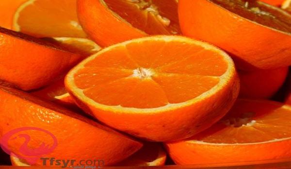 تقشير البرتقال في المنام للعزباء