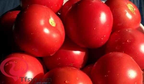 عصير الطماطم في المنام للعزباء