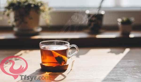 كوب الشاي في المنام