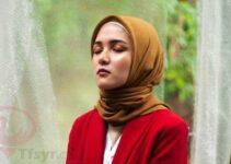 الحجاب الملون في المنام للمتزوجة
