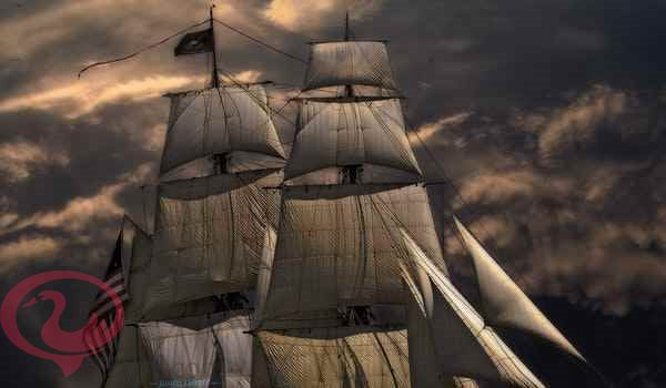 حلم سفينة تطير في السماء للعزباء